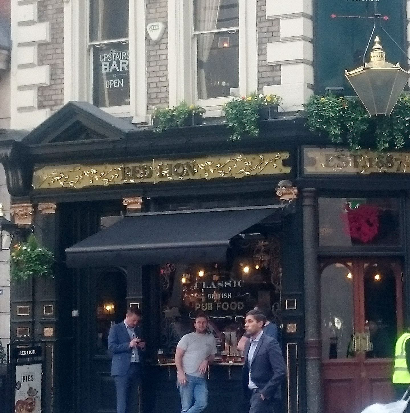 Red Lion in Moorgate