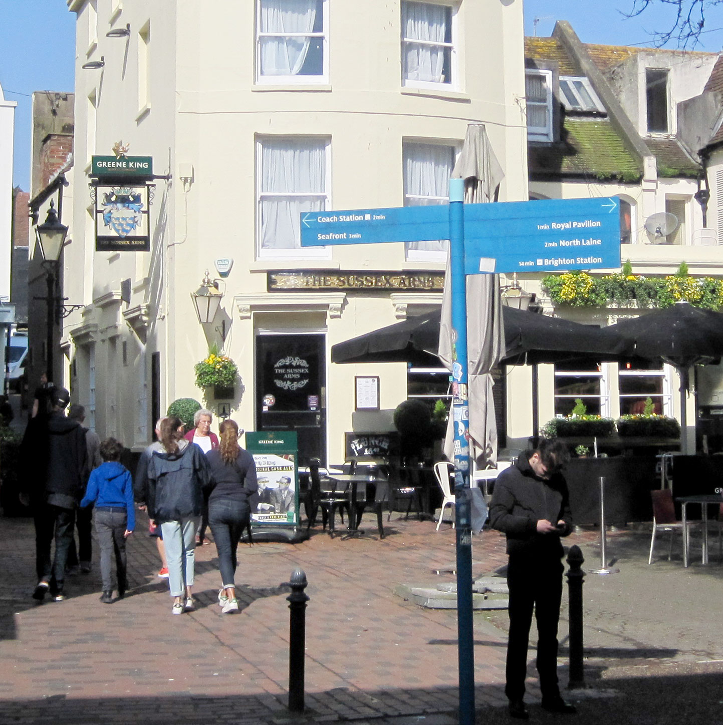 Sussex Pub in Brighton