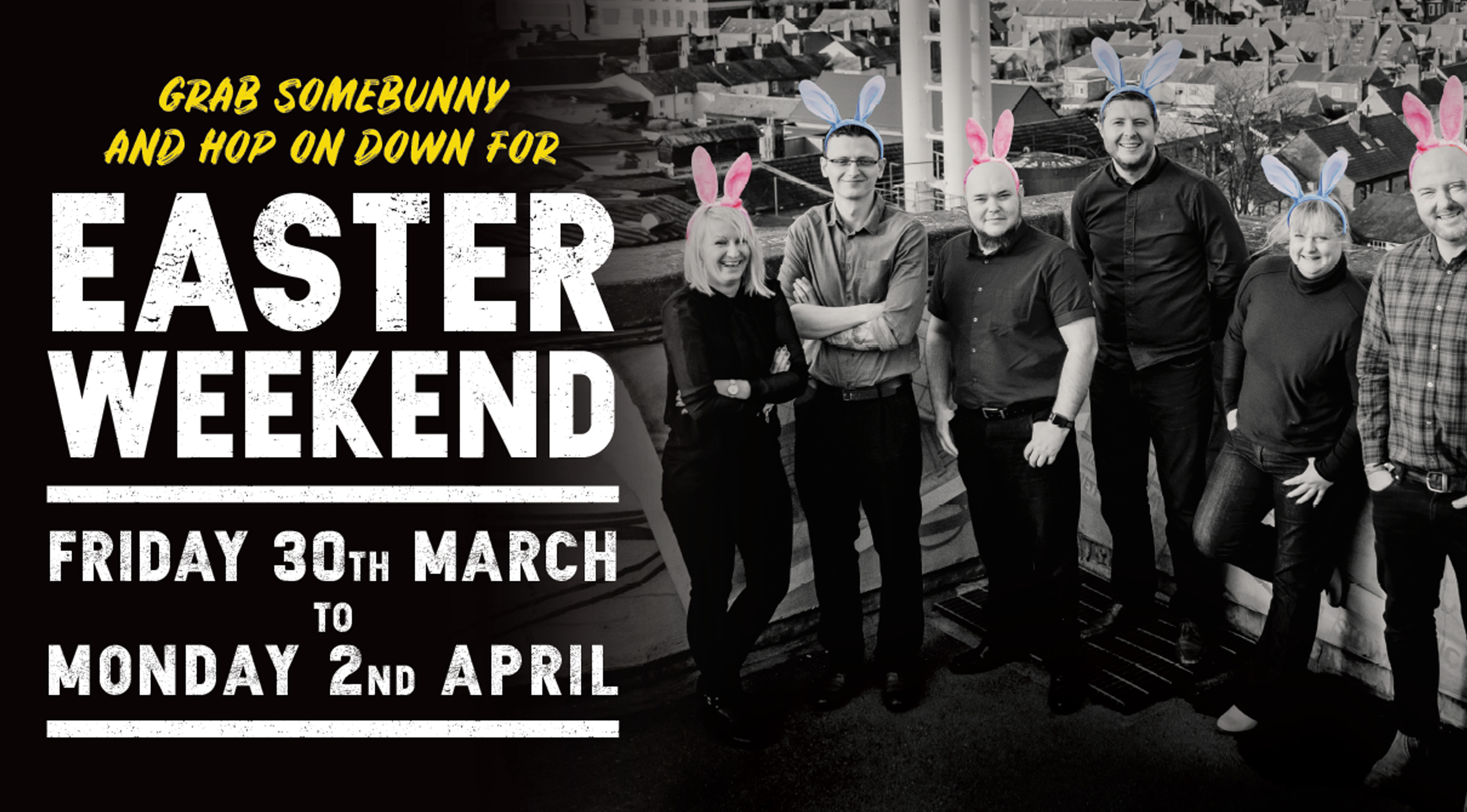 Join us for the big Easter Weekend!
