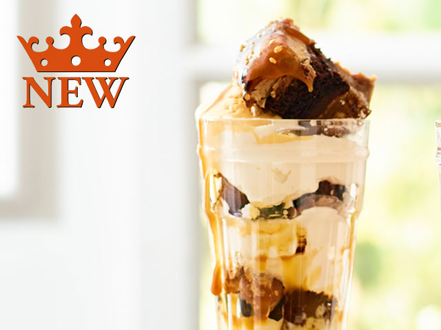 SNICKERBOCKER GLORY SUNDAE